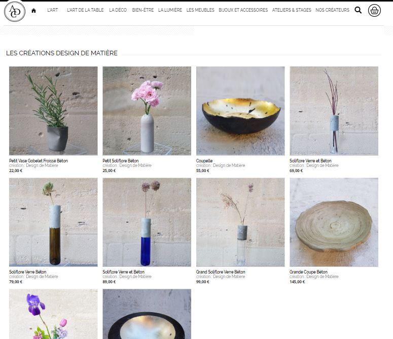 Nouveau : boutique en ligne