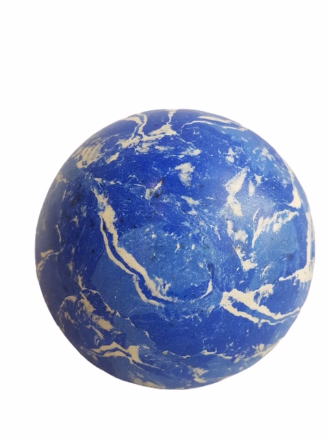 Boule Stuc Marbre Bleu