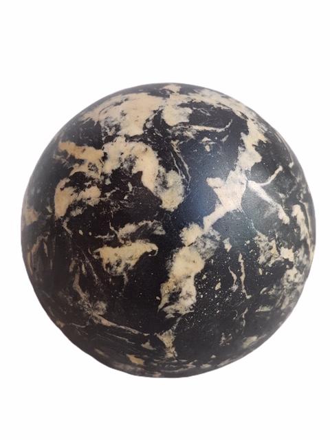 Boule Stuc Marbre Noir