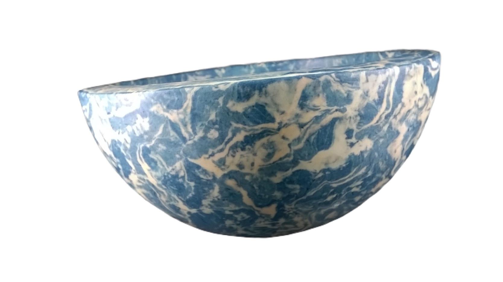 Coupe Stuc Marbre Bleu Turquoise