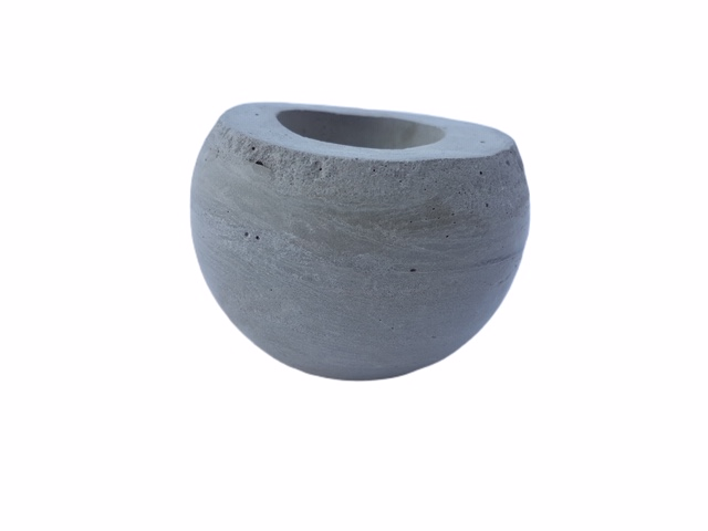 Pot Boule Béton